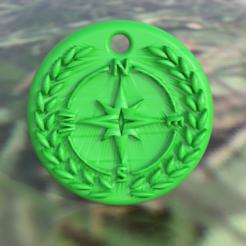 Descargar archivo 3D gratis Colgante de brújula, IdeaLab