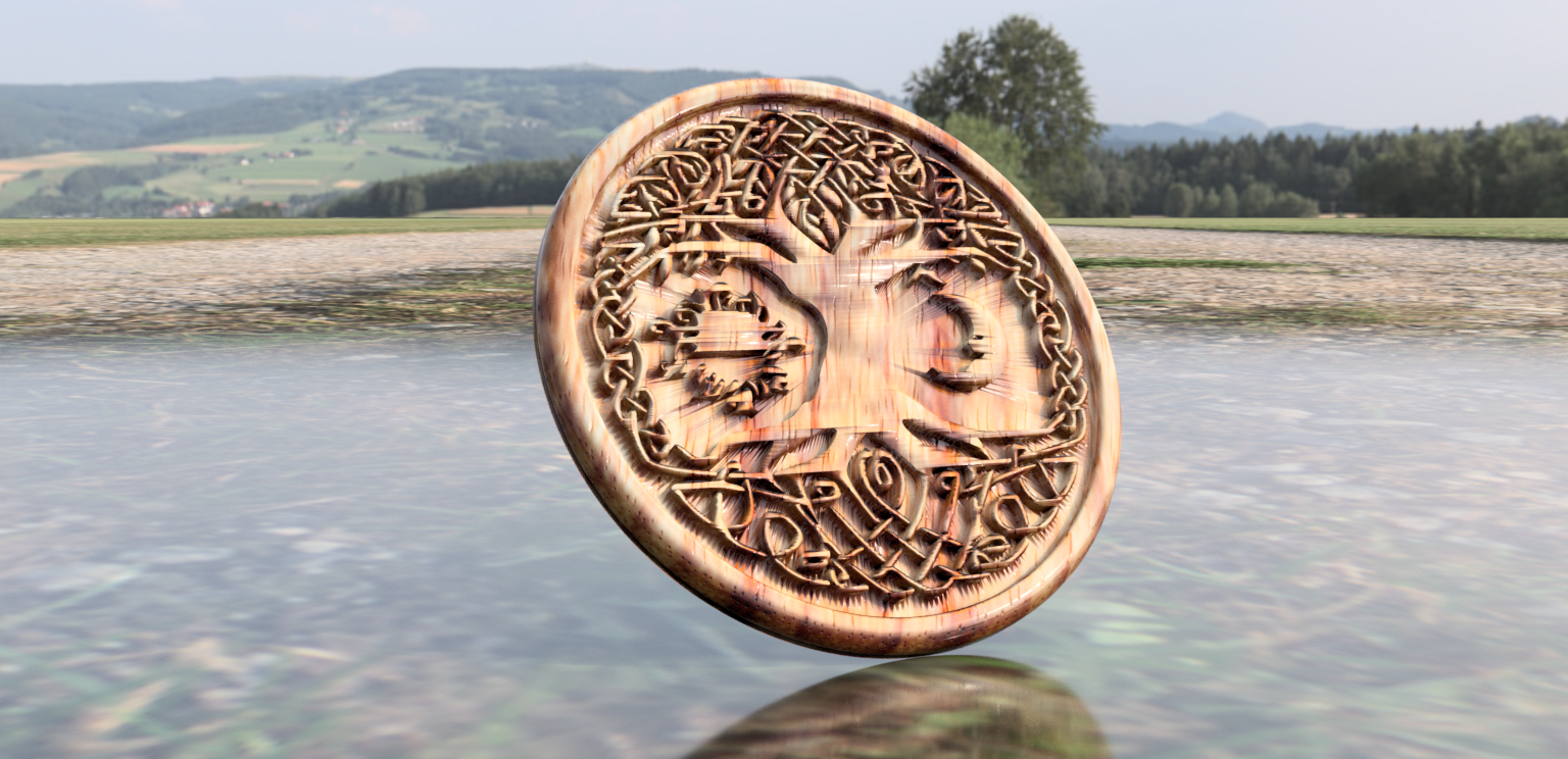tree version 2 C.png Download free STL file Celtic tree of Life drink-coaster (version 2) • 3D printer object, IdeaLab