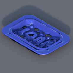 Download free 3D printer designs Soap dish (remix), IdeaLab