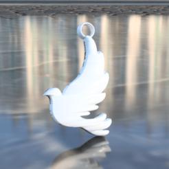 Descargar modelo 3D gratis Pendientes de paloma, IdeaLab