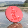 Download free 3D printing files Piglet drinkcoaster (Winnie the Pooh), IdeaLab