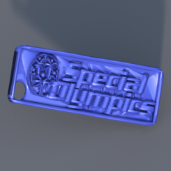 special olympics.png Download free STL file Keychain Special Olympics • Design to 3D print, IdeaLab