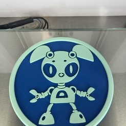 IMG_4344.jpg Download free STL file Robot coaster (v2) • Model to 3D print, IdeaLab