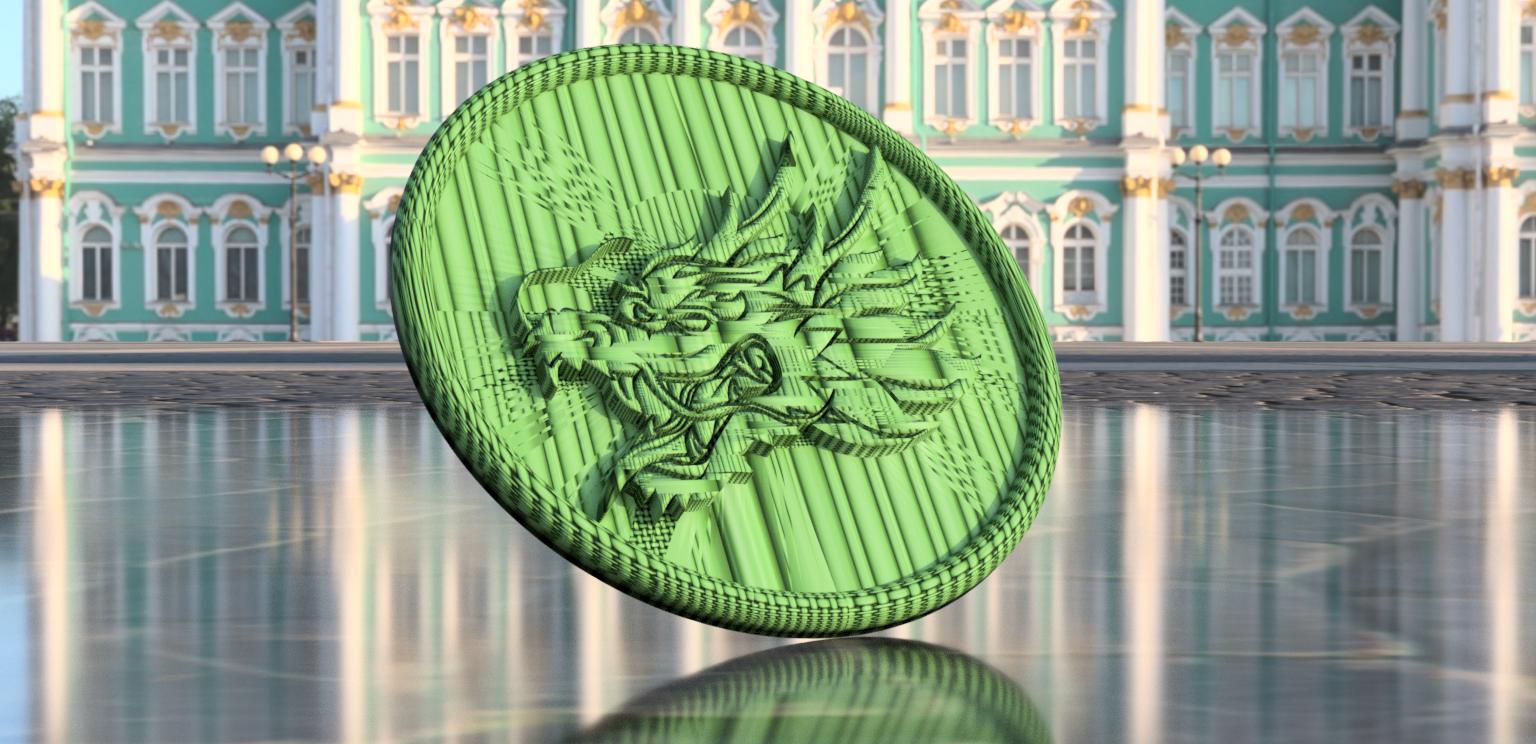 dragon.png Download free STL file Dragonhead drinkcoaster • 3D printer design, IdeaLab