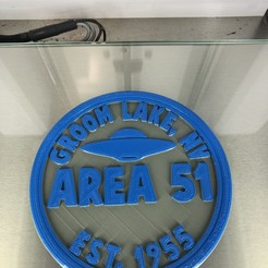 IMG_4264.jpg Download free STL file Area 51 coaster • 3D printer object, IdeaLab