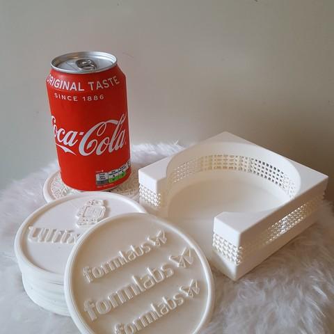 20190407_191142.jpg Download free STL file Coasterholder lattice pattern • 3D printer template, IdeaLab