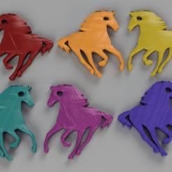 Descargar modelo 3D gratis Llavero de caballo, IdeaLab