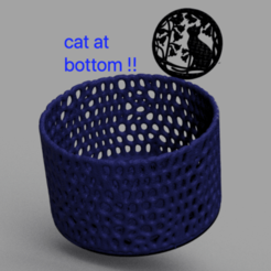 Download free 3D printer files Container (voronoi), IdeaLab