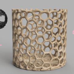 Télécharger fichier 3D gratuit Récipient d'arbre de vie celtique, IdeaLab