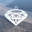 Download free 3D printer designs Daimond earrings, IdeaLab
