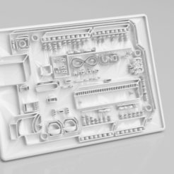 arduino B.png Download free STL file Arduino sign • 3D printing design, IdeaLab
