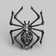 Download free 3D printing templates Celtic spider earrings, IdeaLab