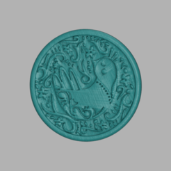 pigeon.png Download free STL file Drinkcoaster 'pigeon' • Design to 3D print, IdeaLab