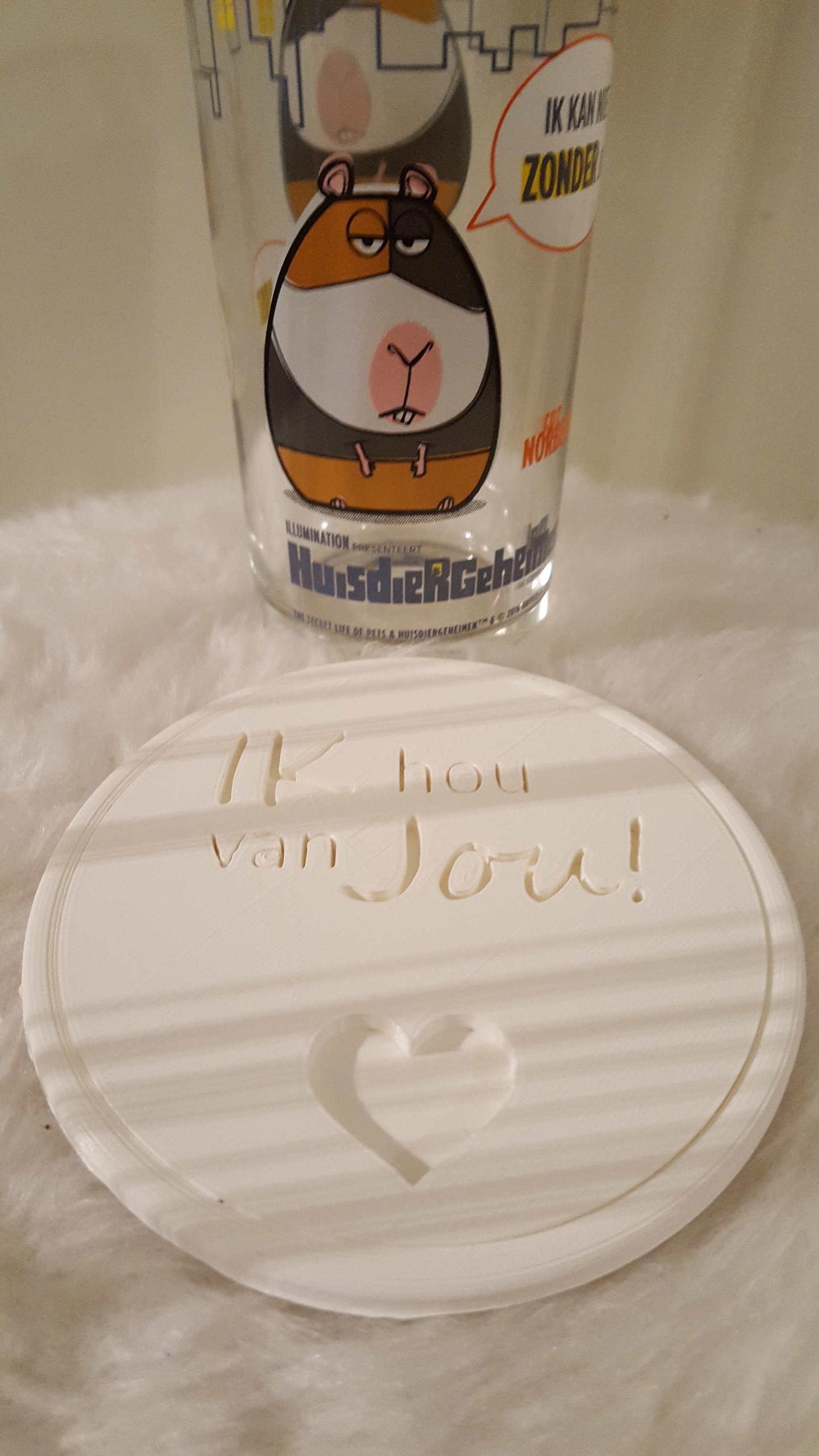 20190319_195732.jpg Download free STL file Ik hou van jou! drinkcoaster pair • 3D printer model, IdeaLab