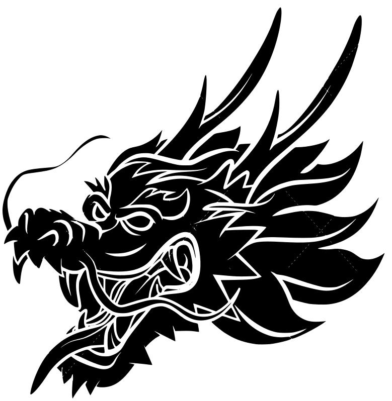 draak.png Télécharger fichier STL gratuit Dessous de verre Dragonhead • Modèle pour impression 3D, IdeaLab