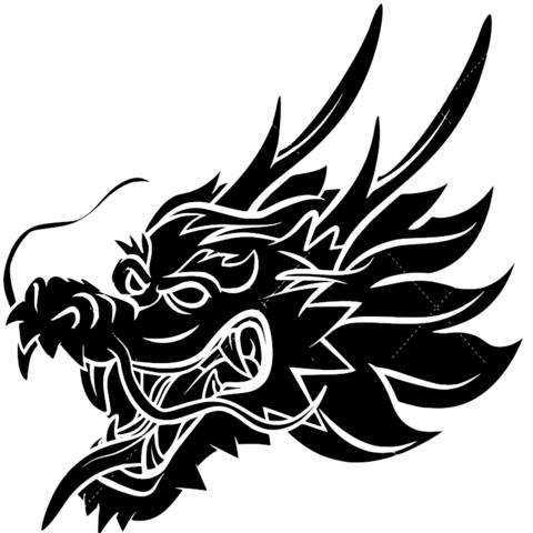 draak.png Download free STL file Dragonhead drinkcoaster • 3D printer design, IdeaLab