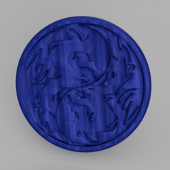 dragon v2.png Download free STL file Drinkcoaster 'dragon v3' • 3D printable model, IdeaLab
