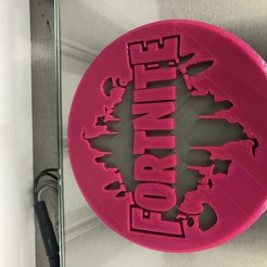 IMG_3928.jpg Download free STL file Fortnite drinkcoaster • Model to 3D print, IdeaLab