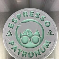 IMG_4604.jpg Download free STL file Drinkcoaster: Starbucks 'Harry Potter' • 3D printer template, IdeaLab