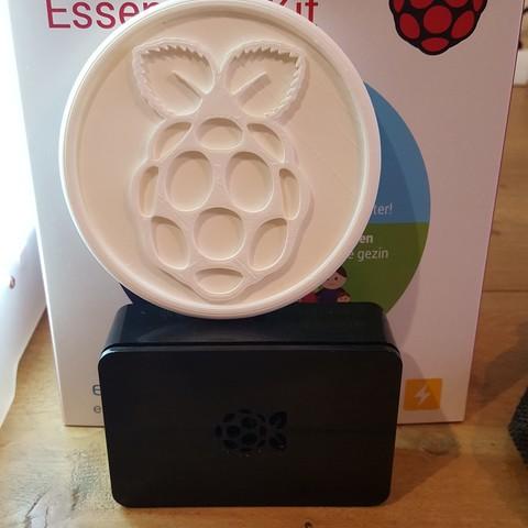20181212_104837.jpg Download free STL file Raspberry Pi coaster • 3D printer object, IdeaLab