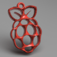 Download free 3D printer files Raspberry Pi earrings, IdeaLab