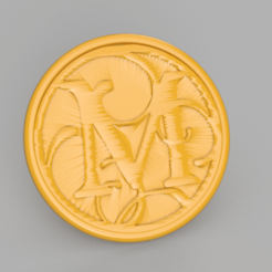 M.png Download free STL file Letter M drinkcoaster • Template to 3D print, IdeaLab