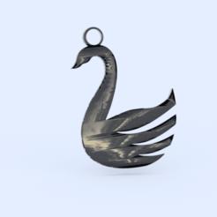 Télécharger fichier 3D gratuit Boucles d'oreilles en forme de cygne, IdeaLab