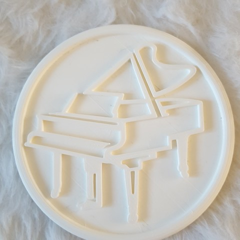 20190327_093631.jpg Download free STL file Piano drinkcoaster pair • Model to 3D print, IdeaLab