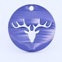 dear.png Download free STL file Dear earrings • 3D printer template, IdeaLab