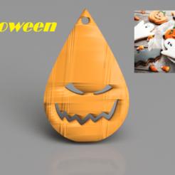 Télécharger fichier impression 3D gratuit Boucles d'oreilles d'Halloween:'effrayant'., IdeaLab