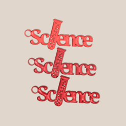 science.png Download free STL file Science earrings • Design to 3D print, IdeaLab