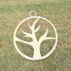 Descargar archivos STL gratis Pendiente árbol (muerto), IdeaLab