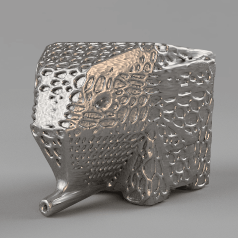 elefante B.png Download free STL file Jumbo Elephant Cutlery Drainer (remix) • 3D printing object, IdeaLab