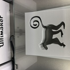 IMG_3051.jpg Download free STL file Monkey doorstopper • 3D printer object, IdeaLab