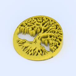 tree.png Télécharger fichier STL gratuit Arrêt de porte de l'Arbre de vie • Objet imprimable en 3D, IdeaLab