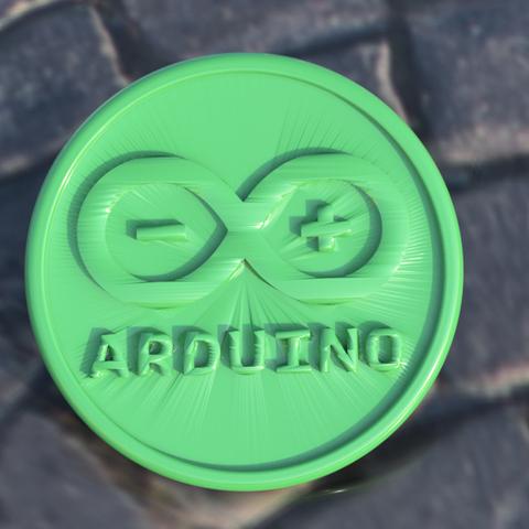 Download free 3D printer designs Arduino coaster, IdeaLab