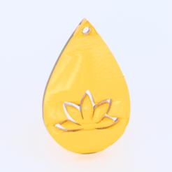 Descargar diseños 3D gratis Pendiente de yoga, IdeaLab