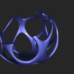 Fichier imprimante 3D gratuit Porte-bougies Voronoi, Rossinante