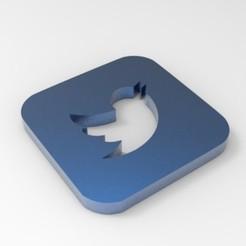 Descargar modelo 3D gratis Posavasos de redes sociales, Rossinante