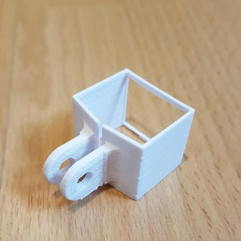 3D print model DJI Osmo pocket GoPro mount, Peter-Jan