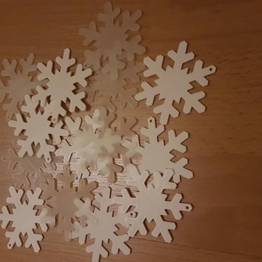 Télécharger fichier 3D gratuit Flocon de neige, Peter-Jan