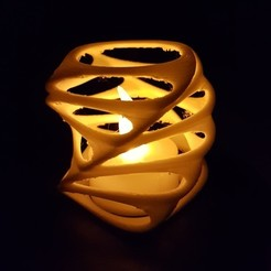 Download free 3D model Tealight Holder, Peter-Jan