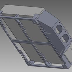 Version4-assembly.png Télécharger fichier STL Système de montage UniFi US-8-150W 4 • Plan imprimable en 3D, bigrjsuto