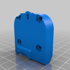 Left_Fan_Shroud_M3.png Download free STL file UM2 Fan Duct Unsupported M3 Mod • 3D printable object, bigrjsuto