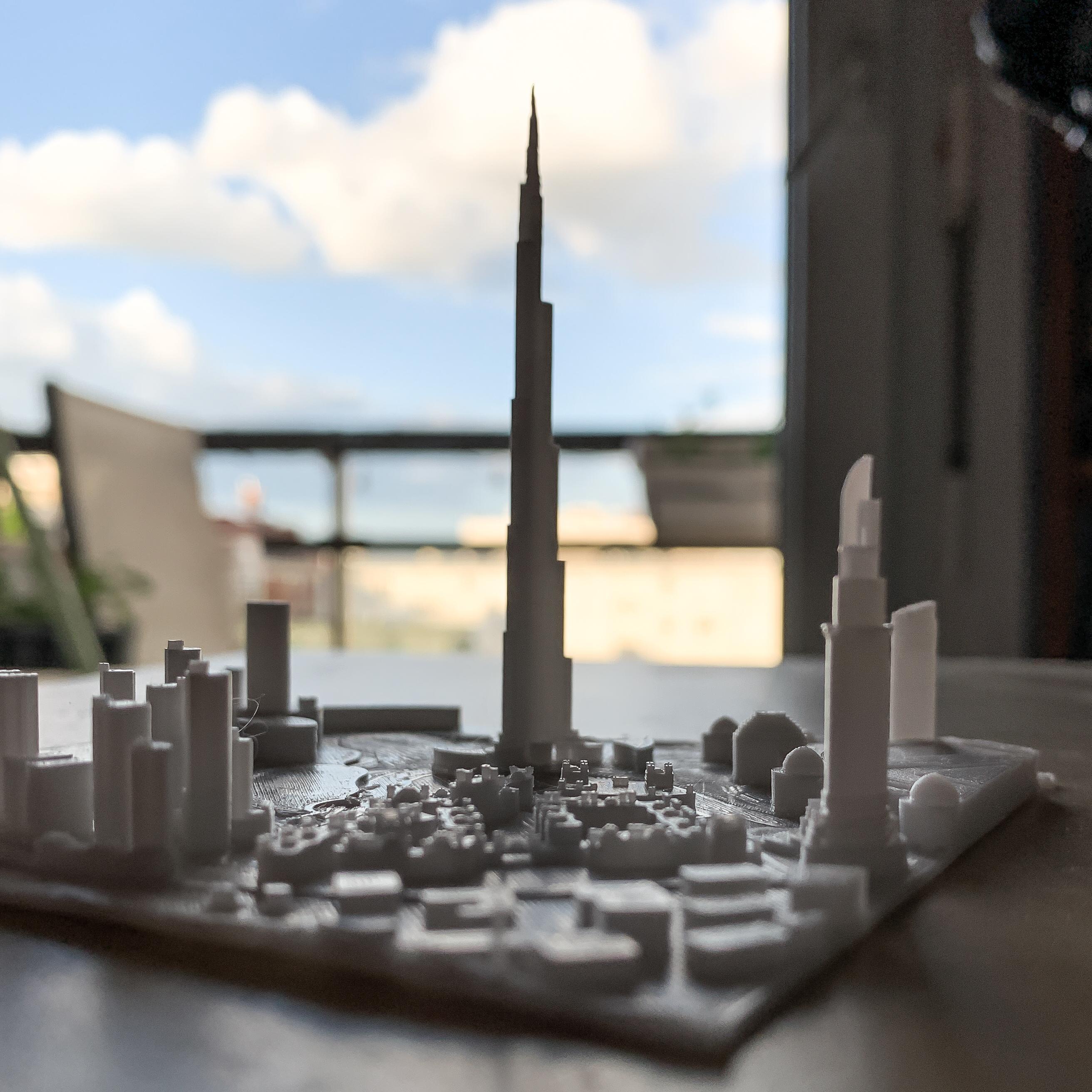 IMG_3086-4.jpg Download free STL file Dubai, Burj Khalifa • Model to 3D print, robertbriac