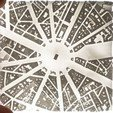 Download free 3D printing designs Paris, place de l'Etoile with Arc de Triomphe, robertbriac