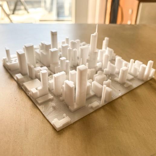 Download free 3D printer templates Chicago city, robertbriac