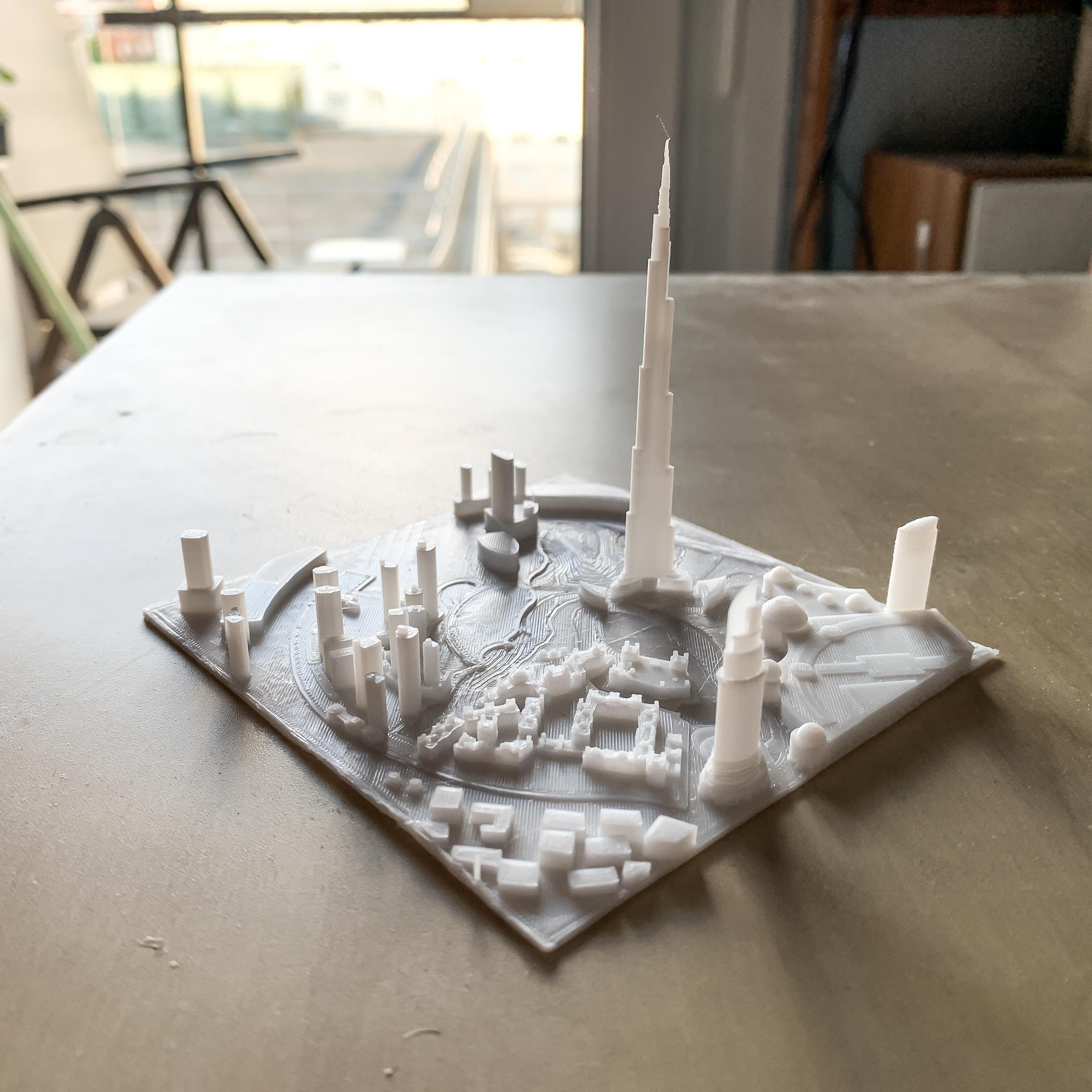IMG_3082-1.jpg Download free STL file Dubai, Burj Khalifa • Model to 3D print, robertbriac