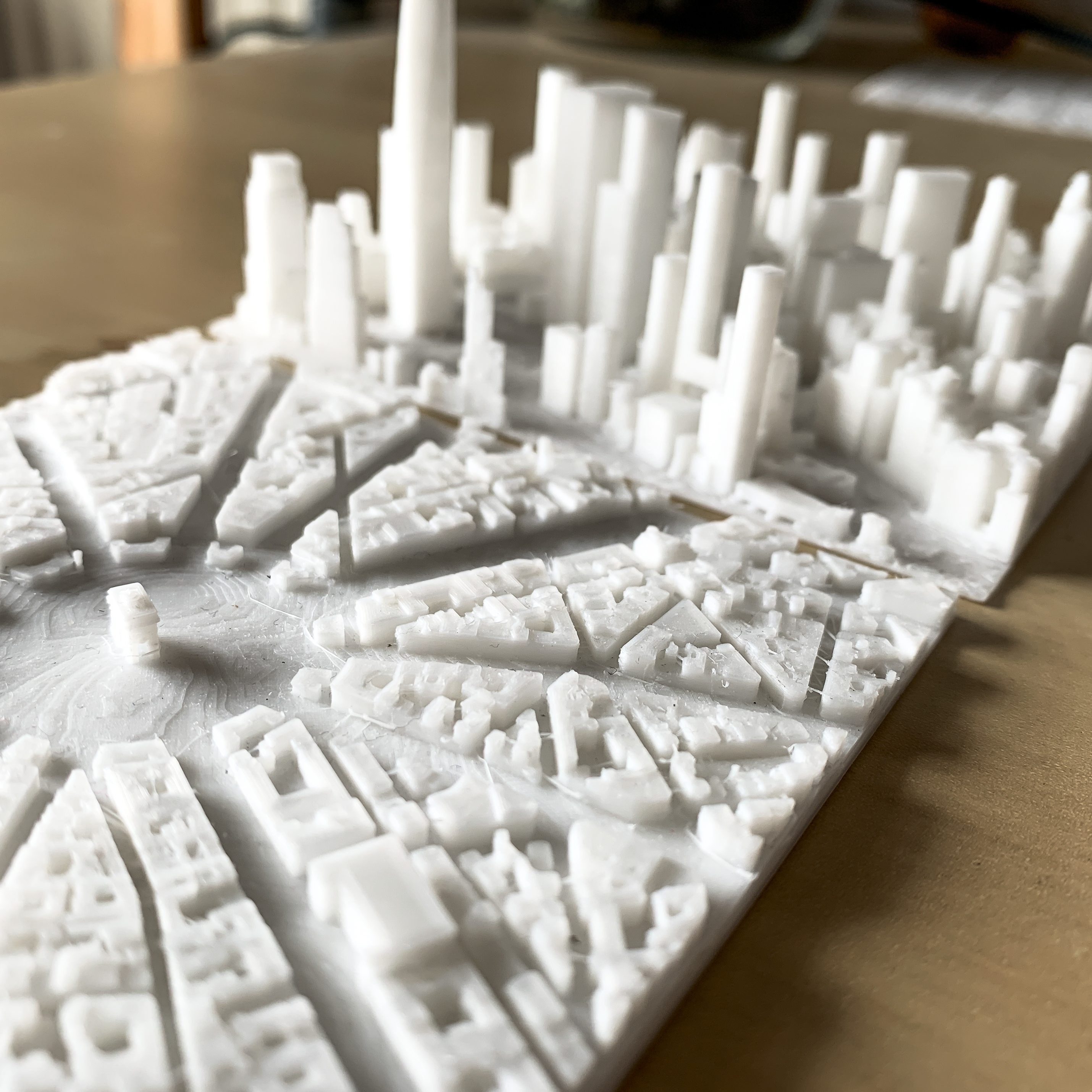 IMG_3904-2.jpg Download free STL file Paris, place de l'Etoile with Arc de Triomphe • 3D printing object, robertbriac