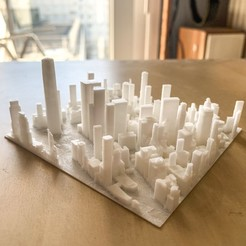 Download free 3D printing models New York, Lower Manhattan, robertbriac